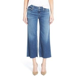 Hudson Sammi Wide Leg Cropped Jeans
